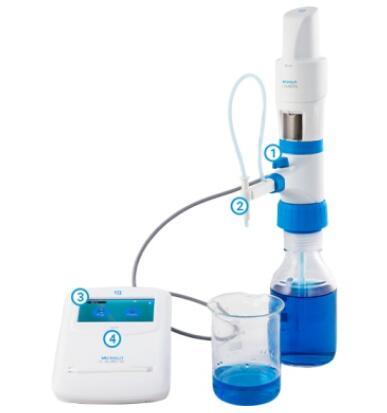 MICROLIT  电动滴定管(3种速度设定) 50ml/25ml/10ml